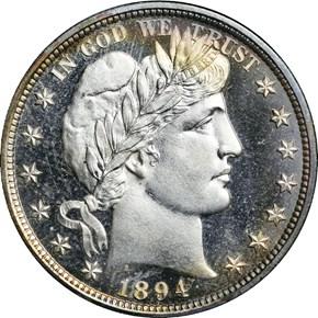 1894 50C PF obverse