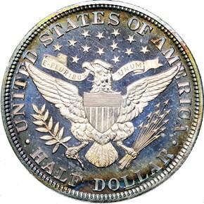 1899 50C PF reverse