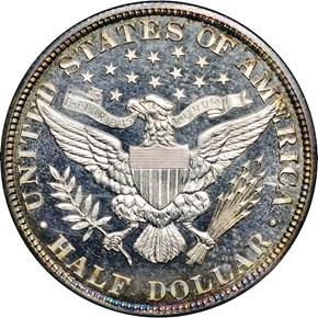 1908 50C PF reverse