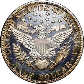 1909 50C PF reverse