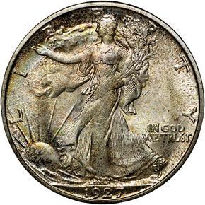 1927 S 50C MS obverse