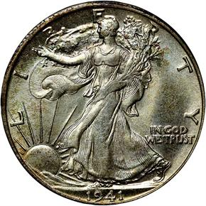1941 S 50C MS obverse