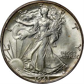 1943 S 50C MS obverse
