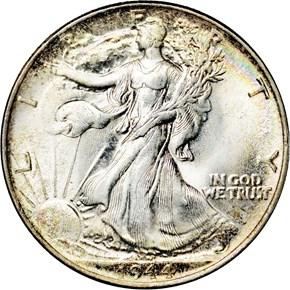 1944 50C MS obverse