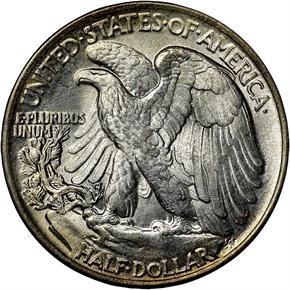 1944 50C MS reverse