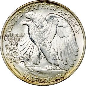 1945 50C MS reverse