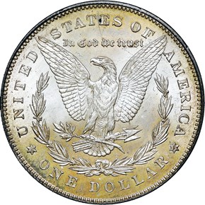 1878 7TF REV OF 78 $1 MS reverse