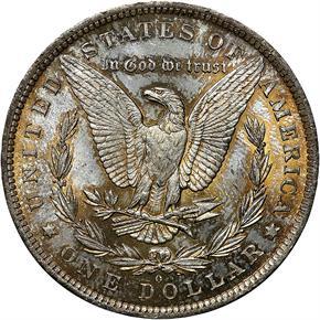 1883 O S$1 MS reverse