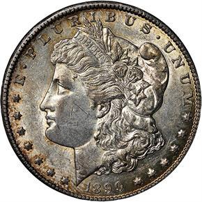 1890 CC S$1 MS obverse