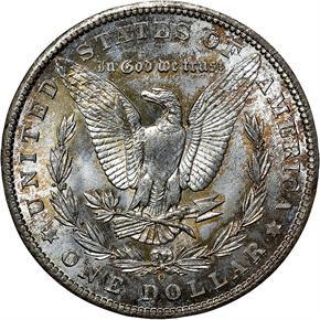 1902 O $1 MS reverse