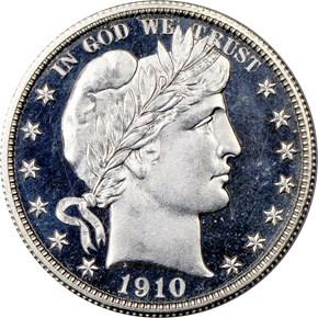 1910 50C PF obverse