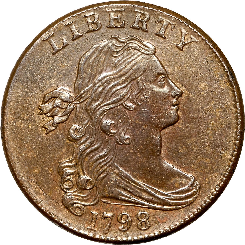 1798 1C MS obverse ...