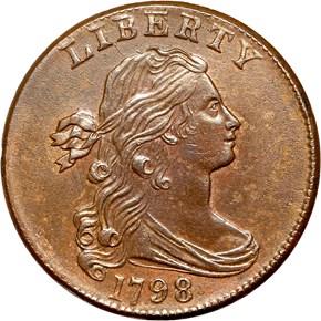 1798 1C MS obverse