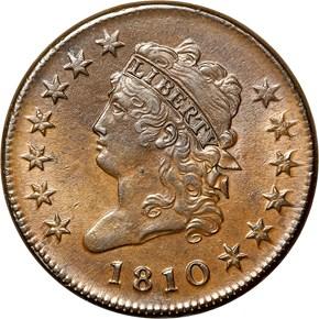 1810 1C MS obverse