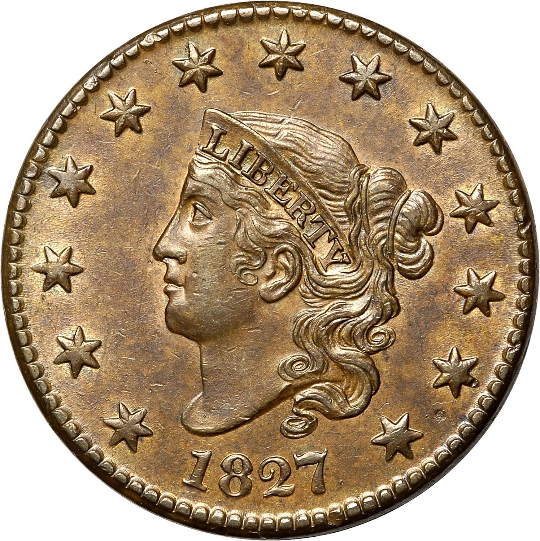 1827 1C MS obverse ...