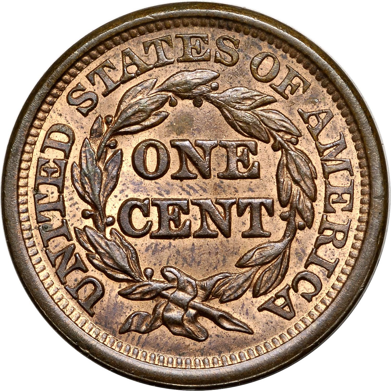 1845 1c Ms Coin Explorer Ngc