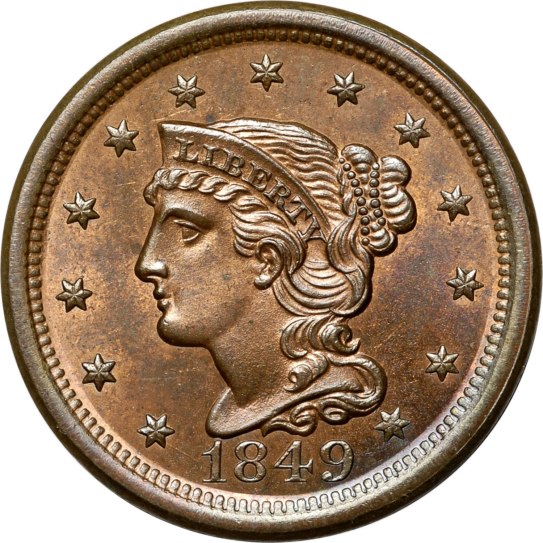 1849 1c Ms Coin Explorer Ngc