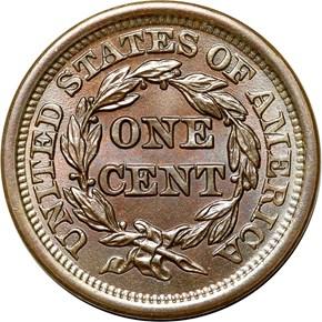 1849 1C MS reverse