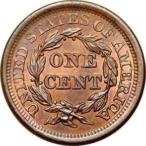 1854 1C MS reverse
