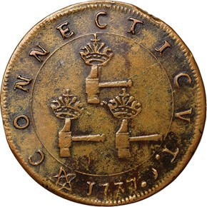 1737 HIGLEY 3 HAMMERS 'CONNECTICVT' 3P MS reverse