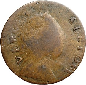 1785 IMMUNE COLUMBIA VERMONT MS obverse