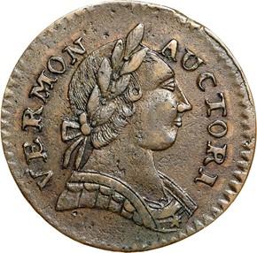 1787 BRITANNIA VERMONT MS obverse