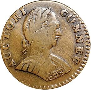 1787 SM BUST ETLIB/INDE CONNECTICUT MS obverse
