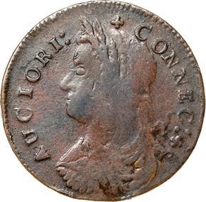 1787 'AUCIORI' CONNECTICUT MS obverse