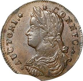 1787 'CONNFC' CONNECTICUT MS obverse