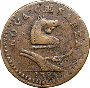 1787 GOITER NEW JERSEY MS obverse