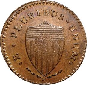 1787 'WM' HIDDEN NEW JERSEY MS reverse