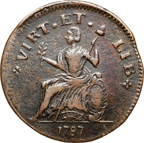 1787 SMALL HEAD NOVA EBORAC MS reverse