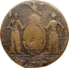 1787 EAGLE LEFT EXCELSIOR MS obverse