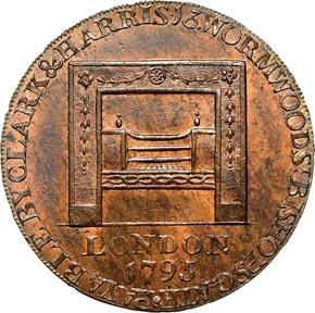 1795 L.E. LG BUTTONS WASHINGTON - GRATE 1/2P MS reverse
