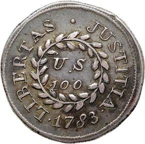 1783 PLAIN EDGE NOVA CONSTELLATIO 100U MS reverse
