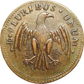 1787 IMMUNIS COLUMBIA EAGLE - PE, BROAD FLAN MS reverse