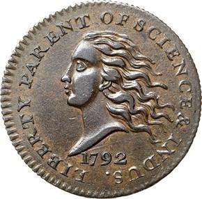 1792 J-10 10C MS obverse
