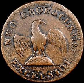 1787 INDIAN & EAGLE EXCELSIOR MS reverse