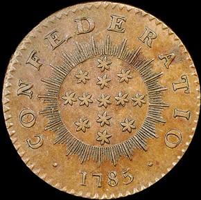1786 IMMUNIS COLUMBIA CONFEDERATIO - LG STARS MS reverse
