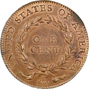 1792 BIRCH J-4 1C MS reverse