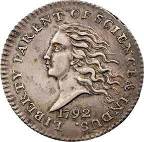 1792 J-9 10C MS obverse