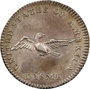 1792 J-9 10C MS reverse