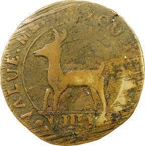 1739 HIGLEY BROAD AXE 'VALUE ME AS YOU PLEASE' 3P obverse