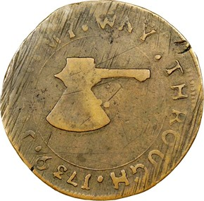 1739 HIGLEY BROAD AXE 'VALUE ME AS YOU PLEASE' 3P reverse