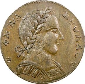 1787 LARGE HEAD NOVA EBORAC MS obverse