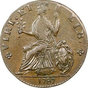 1787 LARGE HEAD NOVA EBORAC MS reverse