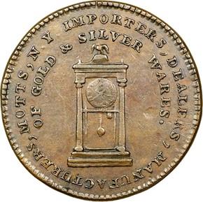 '1789' THIN PL EDGE MOTT COMPANY TOKEN MS reverse