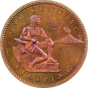1903 USA-PHIL 1C PF obverse