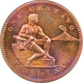 1906 USA-PHIL 1C PF obverse