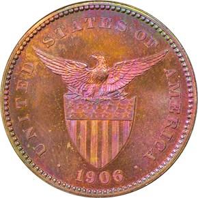 1906 USA-PHIL 1C PF reverse